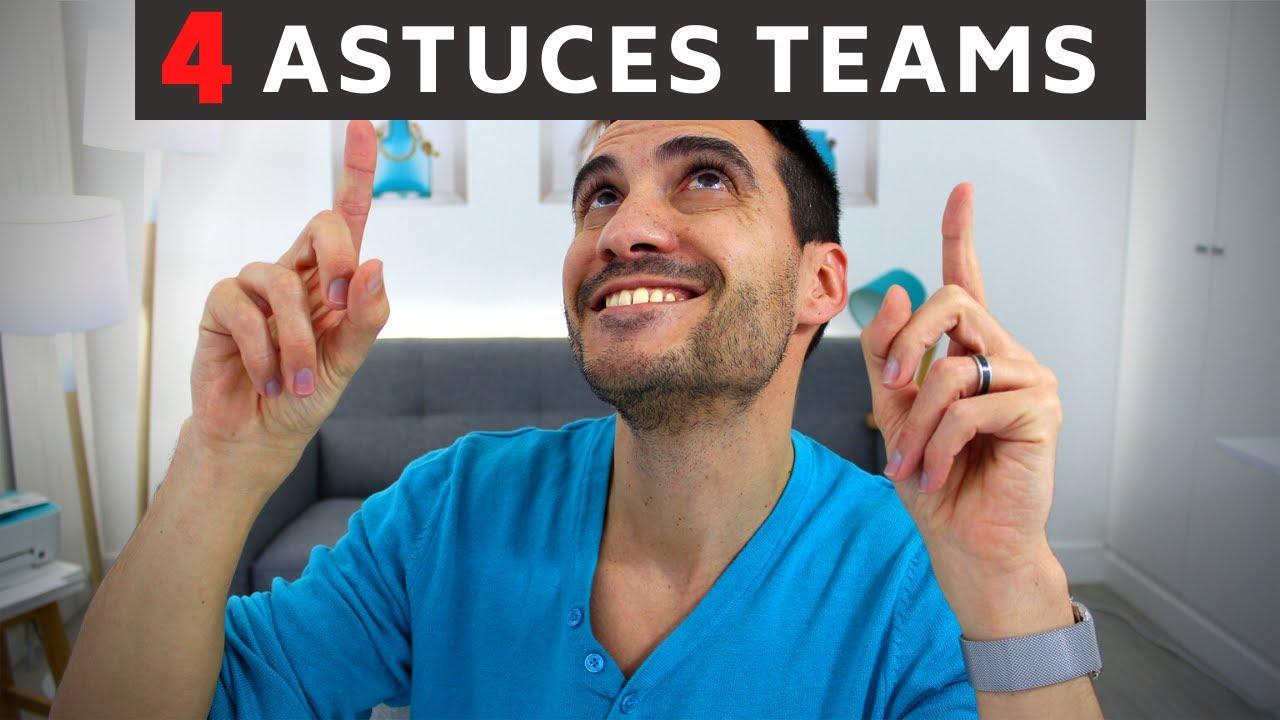 4 astuces pour Teams: Les invités, l'organisateur, la personnalisation de la salle et une surprise!