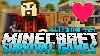 "Minecraft Survival Games: ""Do You Love Me Today?!?"" - Ep 55"