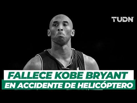 Fallece Kobe Bryant en accidente de helicóptero | TUDN
