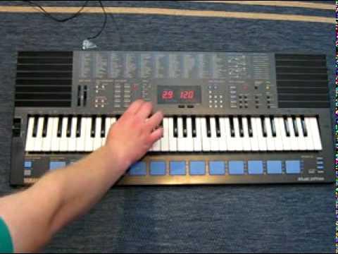 Yamaha pss 680 keyboard part 1 2 youtube for Yamaha keyboard parts