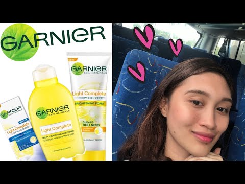 My favorite Garnier products and other ganaps