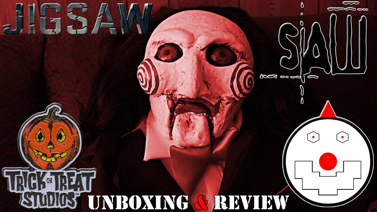 Download Trick Or Treat Studios Jigsaw (Billy Puppet) Prop Unboxing & Review