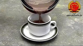 ostdeutscher Schokoladenkaffee nach DDR Rezept