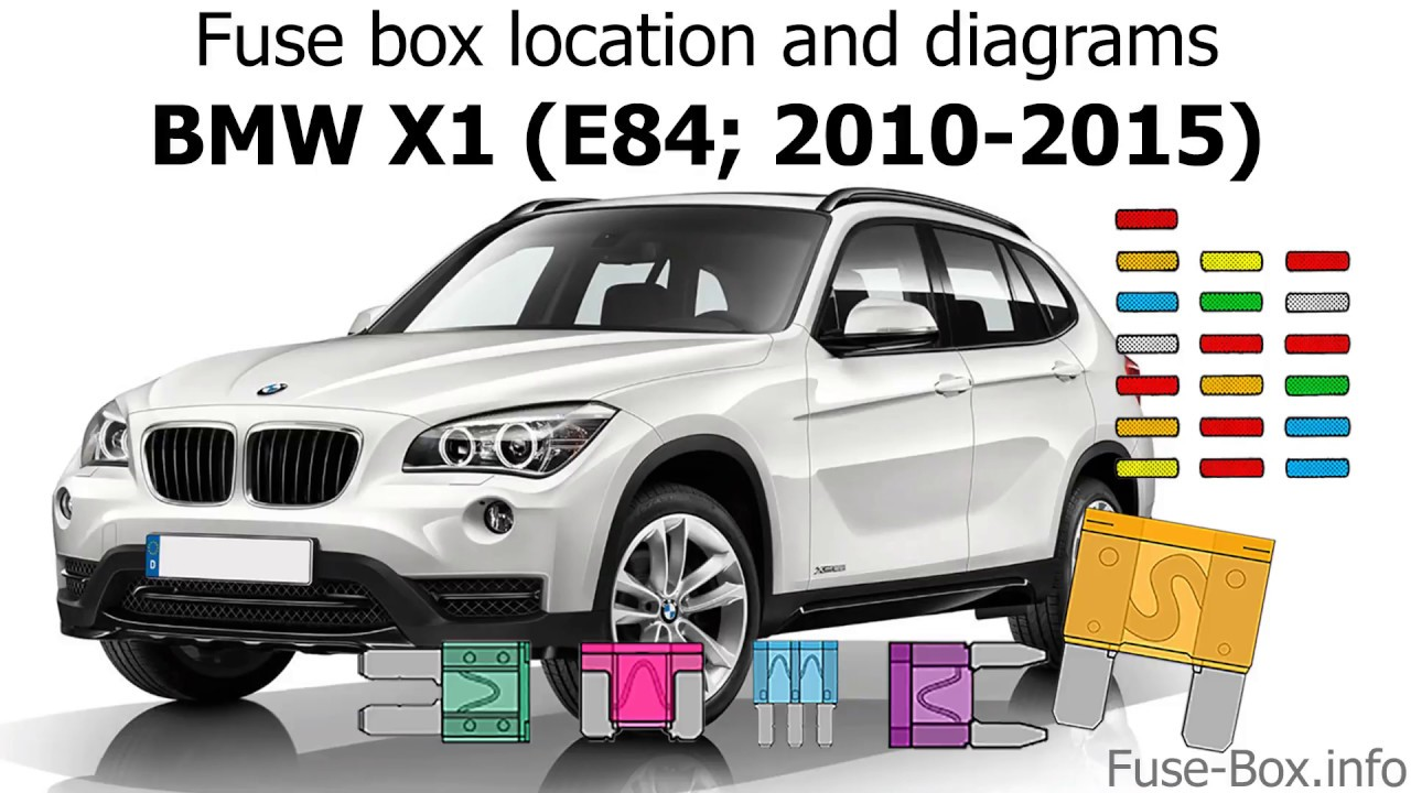 fuse box location and diagrams bmw x1 e84 2010 2015  [ 1280 x 720 Pixel ]