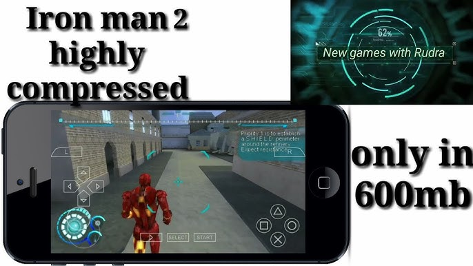 How to download iron man2 in 600mb only psp game (part1/2) youtube.