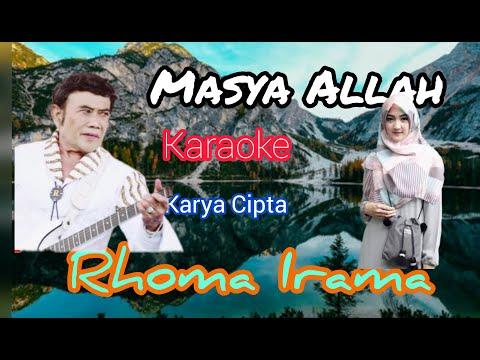MASYA ALLAH   KARAOKE   RHOMA IRAMA By Kang Rudy Collections