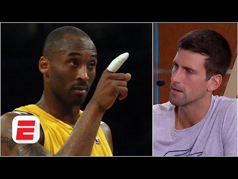 Kobe Bryant One Of My Mentors Novak Djokovic Espn Archive Youtube