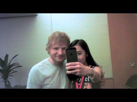 Meeting Ed Sheeran