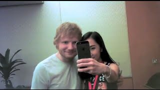 Meeting Ed Sheeran