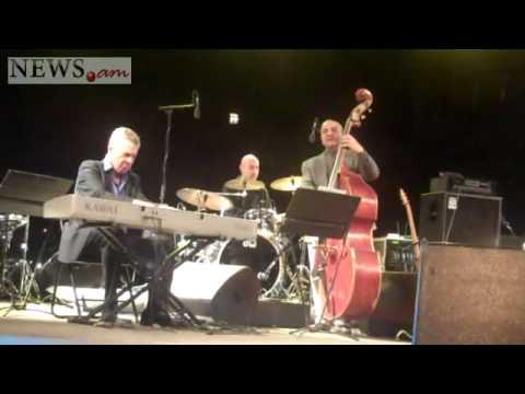 Jazz concert in Yerevan downtown