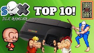 My Top 10 Turb๐grafx 16 Games