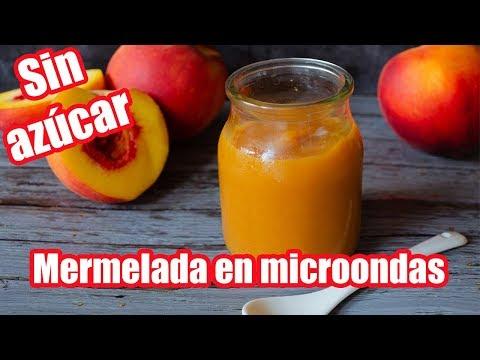 MERMELADA DE DURAZNO EN MICROONDAS | MATIAS CHAVERO