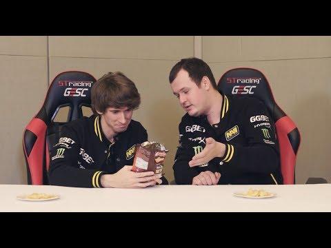 Dota 2 Pro Players Eat Indonesian Snack @ GESC Indonesia Dota 2 Minor