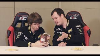 Dota 2 Pro Players Eat Indonesian Snack @ GESC Indonesia Dota 2 Minor