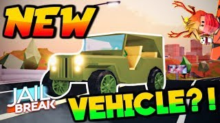 🔴Roblox Jailbreak Livestream l🚗NEW JEEP COMING TODAY?!?!? 🚗l🌟VAULT CASE GIVEAWAYS🌟l COME JOIN!!
