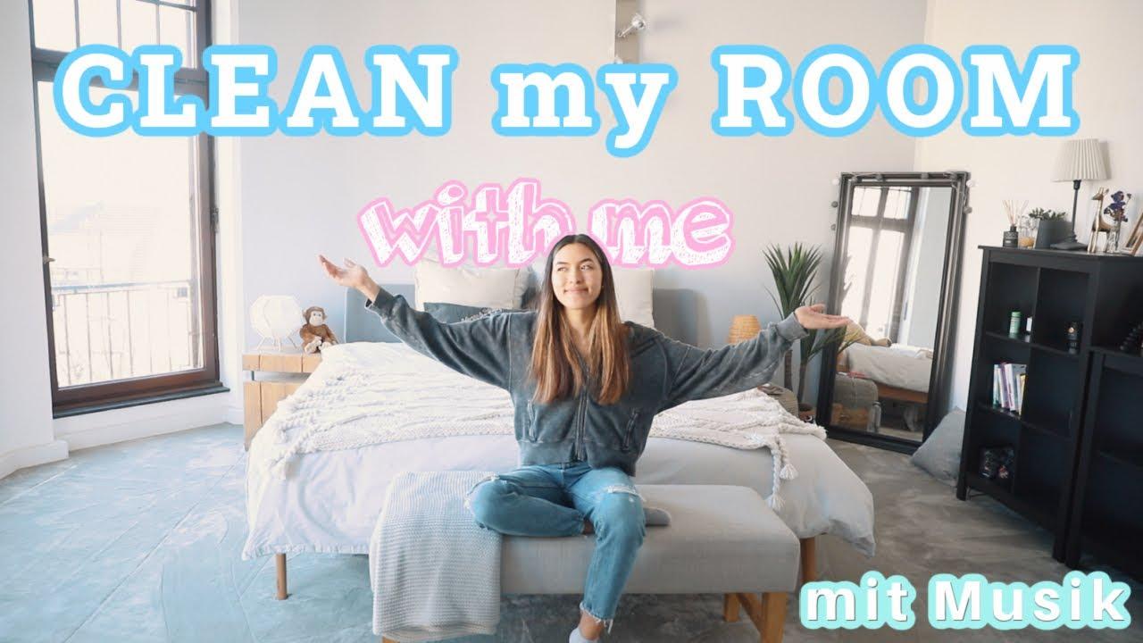 CLEAN MY ROOM w/ me   50 Minuten aufräumen zur Ablenkung, Entspannung, Konzentration 💛