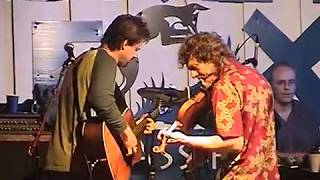 "The Sam Bush Band with John Randall Stewart ""It Ain't No Trouble To Me"" 7/19/02 Grey Fox"