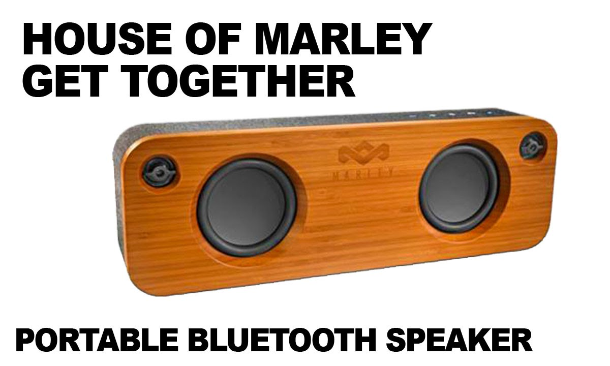 House of Marley Get Together Portable Bluetooth Speaker Review