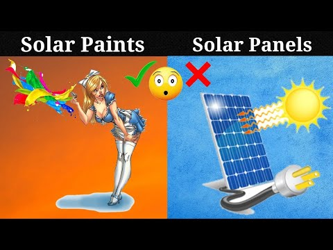 Solar paint could provide endless clean energy. || Future's major energy source.