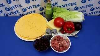 Рецепт приготовления бурито в мультиварке VITEK VT-4215 BW