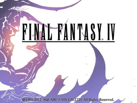 Final Fantasy IV iPhone, iPod Touch, and iPad HD Gameplay