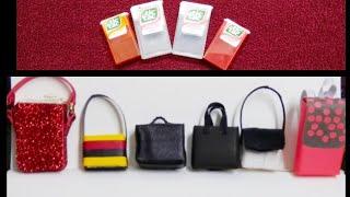 6 DIY Barbie Doll Hacks and Craft Ideas | Tic Tac Miniature Bags | Doll hacks