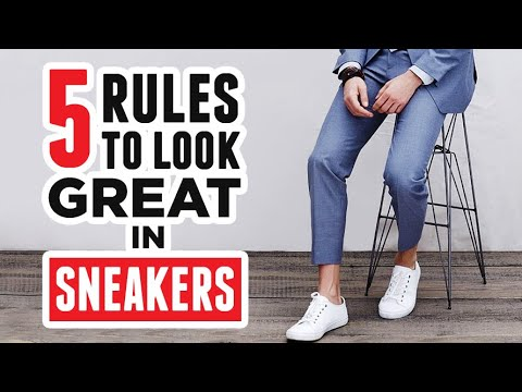 How To Wear Sneakers & Look GREAT (Even If You're Over 30)