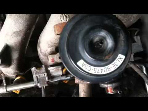 How to fuel rail injector removal on ford f150 54 46 - YouTube