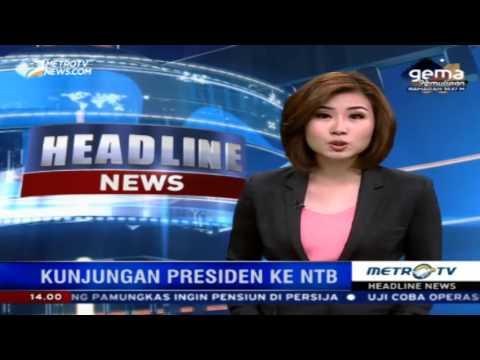 Berita Terbaru Metro Tv Jokowi - YouTube