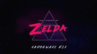 Legend of Zelda - Vaporwave/Synthwave Ultimate Mix ( Z E L D A W A V E )