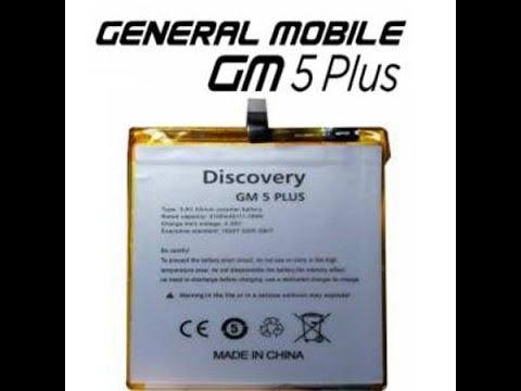 General Mobile Gm 5 Pulus Batarya Değişimi Youtube