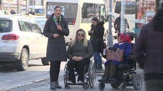 2 ENGELLİ İSTANBUL'DA OTOBÜSE BİNEMEDİ !