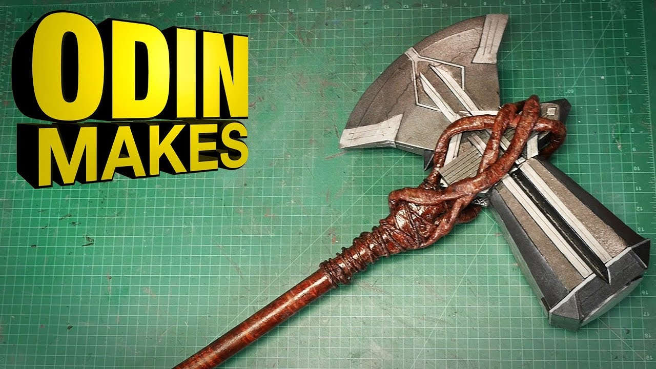 Odin Makes: Thor's Stormbreaker from Avengers: Infinity ...