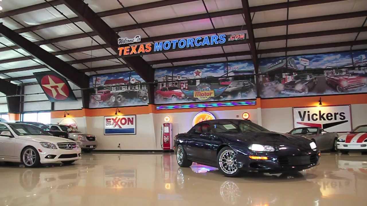 2002 chevrolet camaro z28 texas motorcars used car dealer dallas youtube. Black Bedroom Furniture Sets. Home Design Ideas