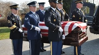 my dad's funeral/burial with full military honors: veteran's day tribute