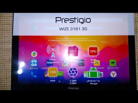 Обзор на планшет Prestigio  Wize 3161 3G.
