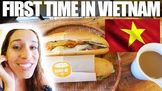 FIRST TIME IN VIETNAM - BANH MI 25 and PHO