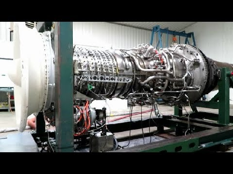 The Big Engine - the GE LM2500...