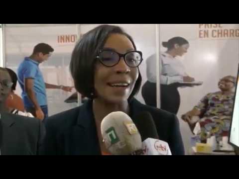 SALON DE LA RELATION CLIENT EN COTE D'IVOIRE - REPORTAGE RTI