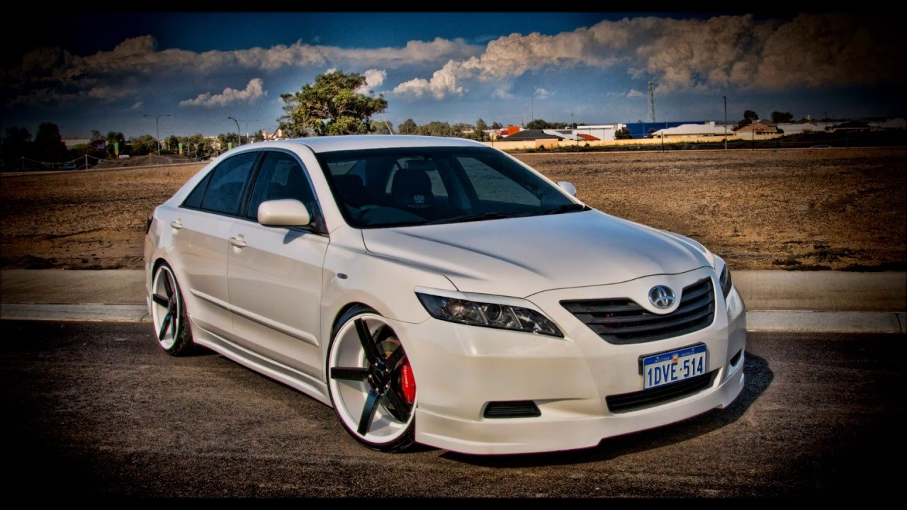 Toyota Camry Lowered On 20 Quot Vossen Cv3 Youtube