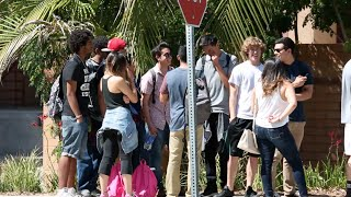 Download Cutting College Kids In Line Prank Mp3 and Videos