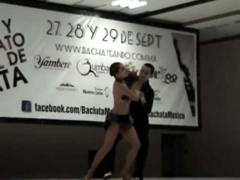 Abraham y Liz Bachateando 2012