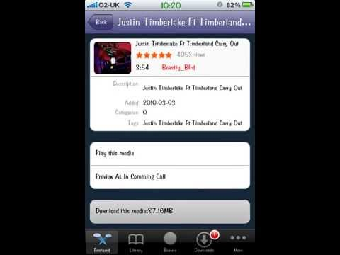 Music Video Ringtones iPhone For Free[MiVTones]