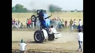 Amazing Tractor Stunts pless watch