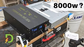 Cheap 8000w Reliable Electric Inverter, Full Load Test, Review