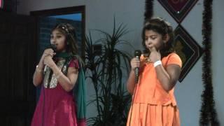 Adviti and Manu Singing Desh Hamara Hamko Pyara