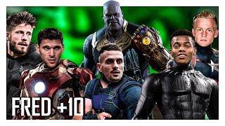 Top 10 - O Ajax derrotaria Thanos?