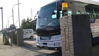 ★バス発車シーン③★羽田空港行[国際興業]◆西武バス大宮営業所前