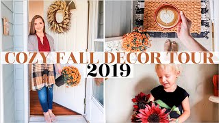 �FALL DECOR TOUR 2019 | Clean + Decorate With Me ✨| Cozy, Minimal, Hygge autumn decor ideas + DIY
