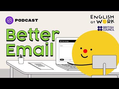 เคล็ดลับเขียนอีเมลในที่ทำงานแบบมืออาชีพ  #EAWBusinessEmail101 | English At Work EP.4